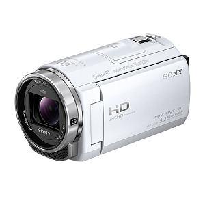 SONY ビデオカメラ HANDYCAM(ハンディカム)32GBメモリー内蔵 (ホワイト) HDR-CX535-W