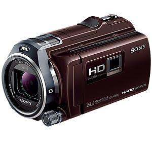 SONY プロジェクター搭載ビデオカメラ HANDYCAM(ハンディカム)64GBメモリー内蔵 (ボルドーブラウン) HDR-PJ800-T