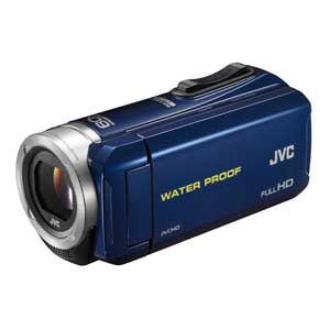 JVC Everio(エブリオ) ハイビジョンメモリームービー (ブルー) GZ-R70-A