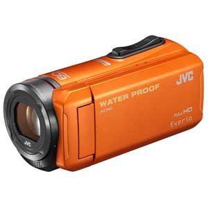 ビクター Everio(エブリオ) ハイビジョンメモリービデオカメラ 32GB オレンジ GZ-R300-D