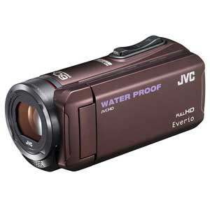 ビクター Everio(エブリオ) ハイビジョンメモリービデオカメラ 32GB ブラウン GZ-R300-T