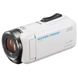 ビクター Everio(エブリオ) ハイビジョンメモリービデオカメラ 32GB ホワイト GZ-R300-W