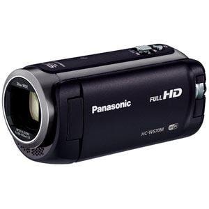 パナソニック デジタルハイビジョンビデオカメラ (ブラック) HC-W570M-K