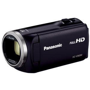パナソニック デジタルハイビジョンビデオカメラ (ブラック) HC-V360M-K