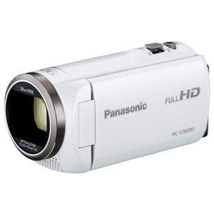 パナソニック デジタルハイビジョンビデオカメラ (ホワイト) HC-V360M-W