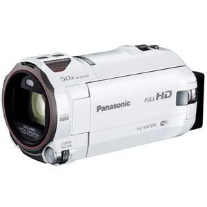 パナソニック デジタルハイビジョンビデオカメラ (ホワイト) HC-W870M-W