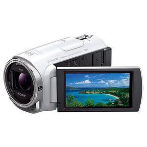 ソニー フルハイビジョンビデオカメラ HANDYCAM(ハンディカム) 32GBメモリー内蔵 ホワイト HDR-CX670-W