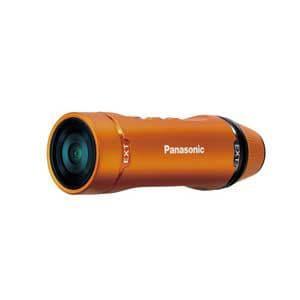 パナソニック マイクロSD対応 1.5m防水フルハイビジョンウェアラブルカメラ(オレンジ) HX-A1H-D