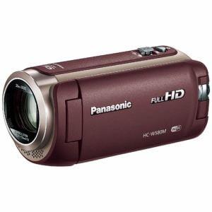 パナソニック SD対応 32GB デジタルハイビジョンビデオカメラ(ブラウン) HC-W580M-T