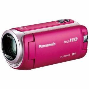 パナソニック SD対応 32GB デジタルハイビジョンビデオカメラ(ピンク) HC-W580M-P