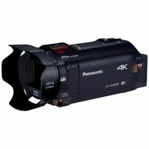 パナソニック SD対応 64GB デジタル4Kビデオカメラ(ブラック) HC-WX990M-K