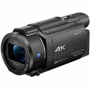 ソニー 「Handycam(ハンディカム)」 デジタル4Kビデオカメラレコーダー ブラック FDR-AX55-B