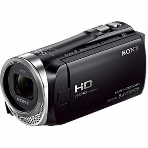 ソニー 「Handycam(ハンディカム)」 マイクロSD対応 32GB デジタルHDビデオカメラレコーダー ブラック HDR-CX485-B