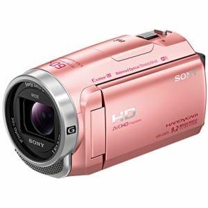 ソニー 「Handycam(ハンディカム)」 マイクロSD対応 32GB デジタルHDビデオカメラレコーダー ピンク HDR-CX675-P