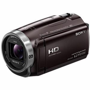 ソニー 「Handycam(ハンディカム)」 マイクロSD対応 32GB デジタルHDビデオカメラレコーダー ボルドーブラウン HDR-CX675-T