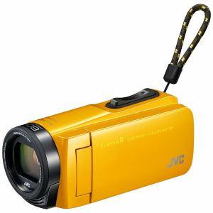JVC GZ-R470-Y EverioR(エブリオアール) 32GBメモリー内蔵ハイビジョンメモリービデオカメラ (マスタードイエロー)
