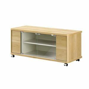 朝日木材加工 AS-ND960H テレビボード(43型まで) ホワイトナチュラル