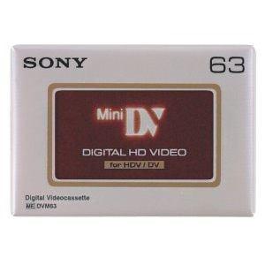 <ヤマダ> SONY ミニデジタルビデオカセット 63分 1巻 DVM63HD DVC画像