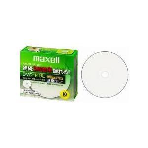 マクセル 録画用DVD-R DL 215分 2-8倍速 CPRM対応 10枚 インクジェットプリンター対応 DRD215WPB.10S
