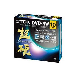 <ヤマダ> TDK 録画用DVD-RW 「超硬」 4.7GB 【CPRM対応 1-2倍速  10枚パック  /インクジェットプリンター対応】 DRW120HCDPWA10A 2画像