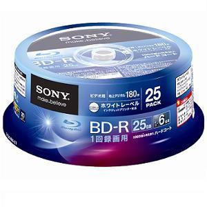 SONY ビデオ用BD-R 25GB 25枚パック 25BNR1VGPP6