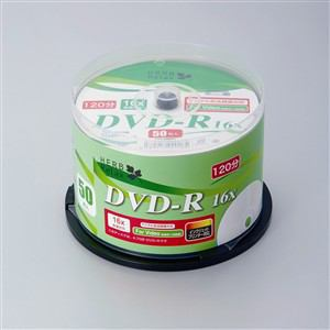 HerbRelax YDR-V50A1 ヤマダ電機オリジナル DVD-R 50枚 録画用