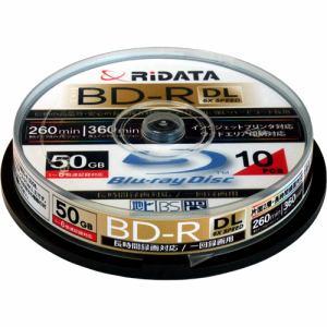 RiDATA 録画用BD-R(DL) 10枚パック (スピンドル) BDR260PW6X10SPA
