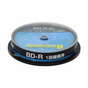 グリーンハウス GH-BDR25A10 1回録画用BD-R 10枚入りスピンドル