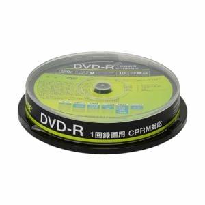 グリーンハウス GH-DVDRCA10 1回録画用DVD-R 10枚入りスピンドル