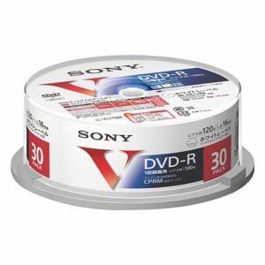 ソニー 30DMR12MLPP 16倍速対応DVD-R 30枚パック