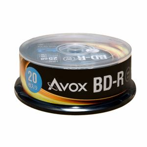 テクタイト BR130RAPW20PA 録画用ブルーレイディスク BD-R(SL:一層) 25GB 20枚スピンドルケース