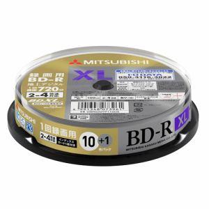 三菱ケミカルメディア VBR520YP11SD5 録画用BD-RXL(片面3層)インクジェットプリンタ対応ワイドレーベル スピンドル11枚パック