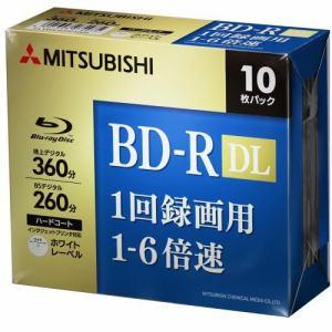 三菱ケミカルメディア VBR260RP10D5 ヤマダ電機オリジナルモデル 録画用BD-R DL(片面2層)