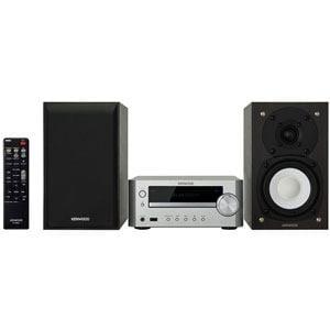 ケンウッド iPod・USB・CD対応 ミニコンポ シルバー K-505-S
