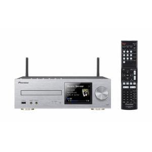 パイオニア ハイレゾ音源対応 ネットワークCDレシーバー シルバー XC-HM82-S