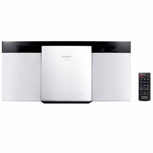 パナソニック Bluetooth対応 コンパクトステレオシステム(ホワイト) SC-HC295-W