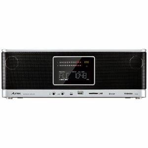 東芝 TY-AH1000S ハイレゾ音源対応 ワイドFM対応 CD/SD/USB対応ラジオ 「Aurex(オーレックス)」 シルバー