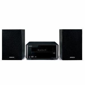 オンキヨー X-U6-B Bluetooth対応CDレシーバーシステム(ブラック)
