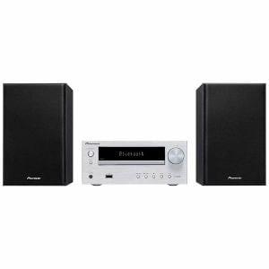 パイオニア X-HM26-S Bluetooth対応CDミニコンポ シルバー