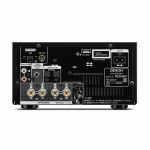 デノン RCD-M41-K Bluetooth対応CDレシーバー ブラック