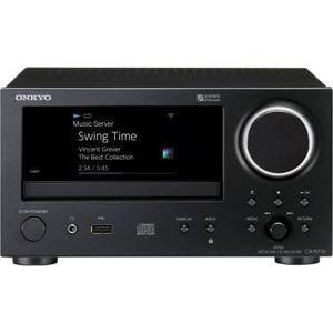 オンキヨー CR-N775(B) 【ハイレゾ音源対応】 ネットワークCDレシーバー ブラック