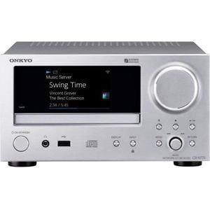 オンキヨー CR-N775(S) 【ハイレゾ音源対応】 ネットワークCDレシーバー シルバー