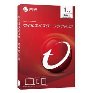 トレンドマイクロ ウイルスバスター クラウド 10 1年版 TICEWWJ9XSBUPN3700Z