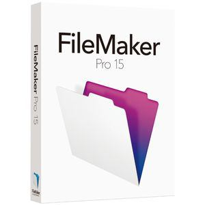 ファイルメーカー FileMaker Pro 15 Single User License HJVA2J/A