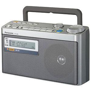 Panasonic ラジオ RF-U350-S