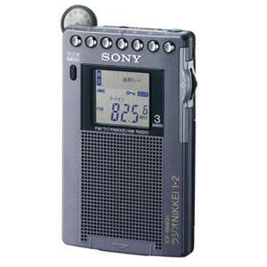 SONY ラジオ FM/ラジオNIKKEI/AM PLLシンセサイザーラジオ ICF-RN931