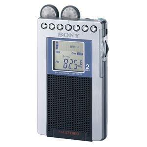 SONY ラジオ FMステレオ/AM PLLシンセサイザーラジオ SRF-R431