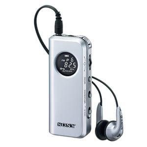 SONY ラジオ FMステレオ/AM PLLシンセサイザーラジオ SRF-M98