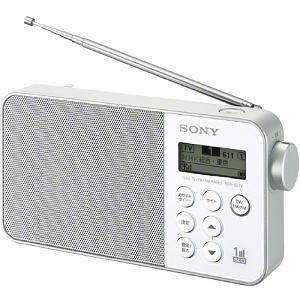 SONY ワンセグラジオ XDR-55TV-W