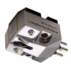 オーディオテクニカ MC型(デュアルムービングコイル)ステレオカートリッジ AT33Sa